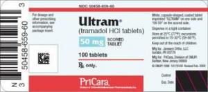 Does tramacet contain codeine