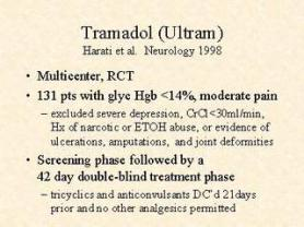 How to get tramadol prescribed to you