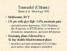 Is tramadol an opiate