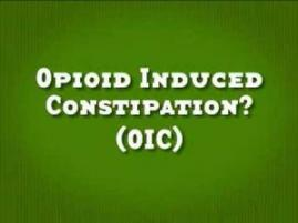 Opioid induced constipation treatment guidelines