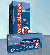 Paracetamol and tramadol combination product