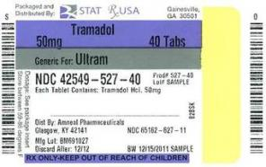 What does tramadol have in it